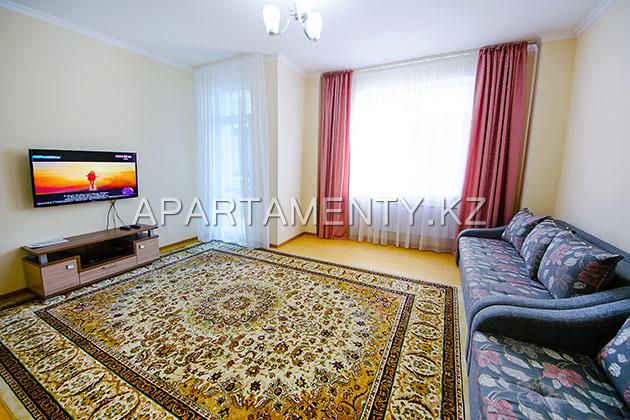Однокомнатная квартира посуточно, Дипломат, Астана