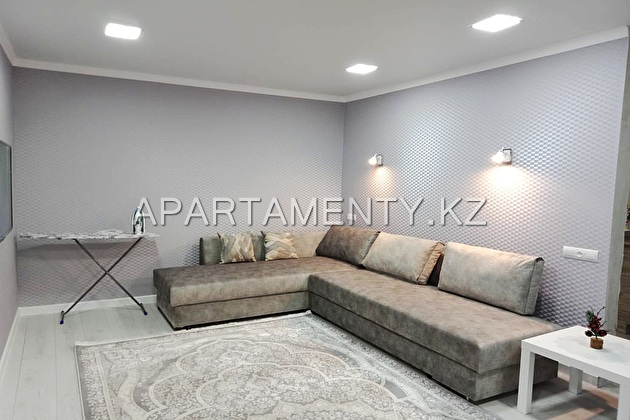 2-room apartment for daily rent, ul. Kutuzova d. 4