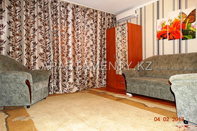 1-room apartment for rent, ul. Kuishi Dina d. 12