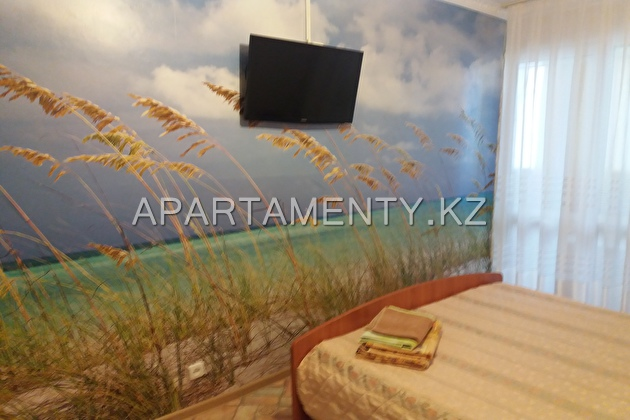 2-room apartment for daily rent in Aktau