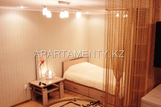 One room apartment for daily rent in Karaganda