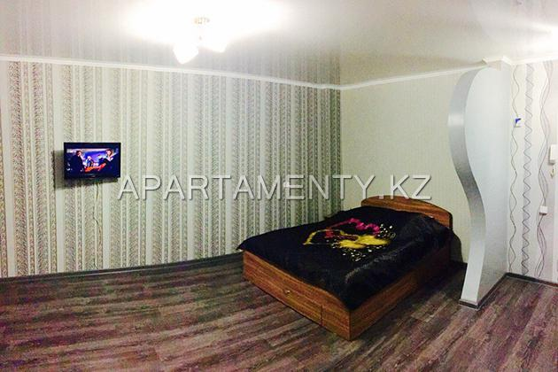 1-room apartment for daily rent in Kostanay