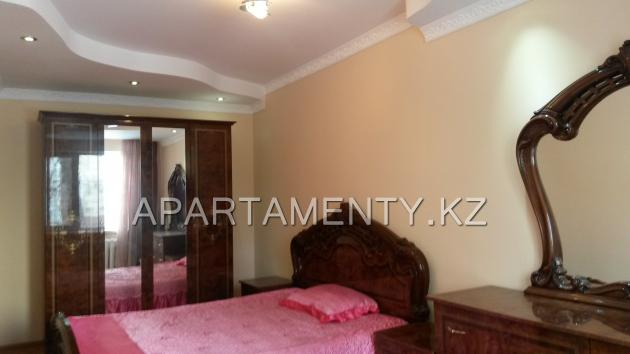2-roomed apartment by the day in Karaganda