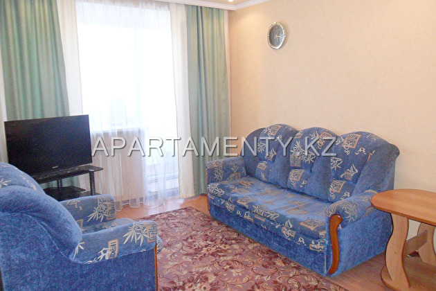 1-bedroom apartment in the center daily