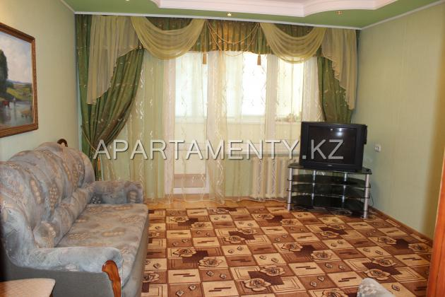 1-bedroom apartment daily in the center of the city