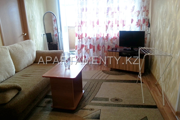 1-room apartment for a day in Kostanay
