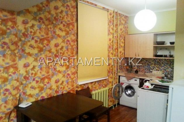 1-room apartment daily, hourly