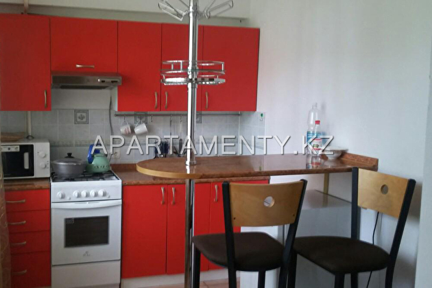 one-bedroom apartment for rent, 3 Samal in Almaty