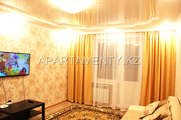 2-room apartment for daily rent in Pavlodar