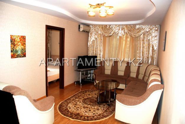 двухкомнатная квартира в Алмате, посуточно