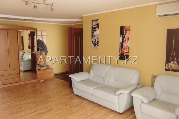 3-bedroom apartment in the center of Kostanay