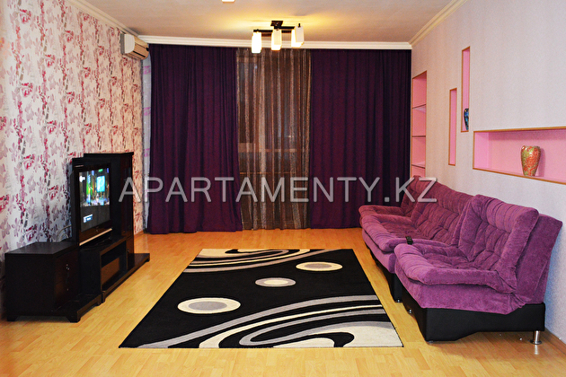 Two-bedroom apartment in Almaty