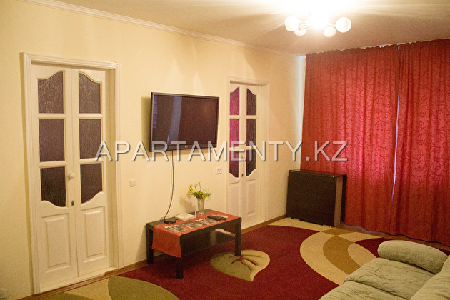 three-room apartment in the center of Uralsk