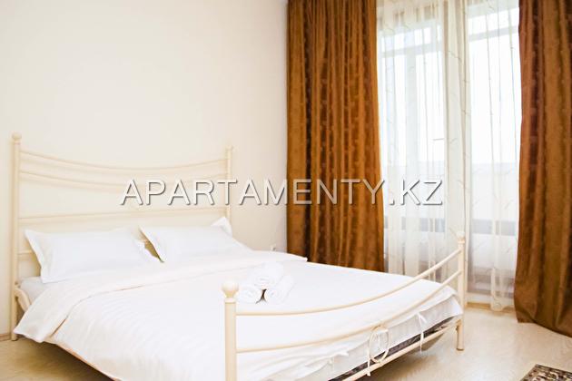 Двухкомнатная квартира посуточно в Алмате