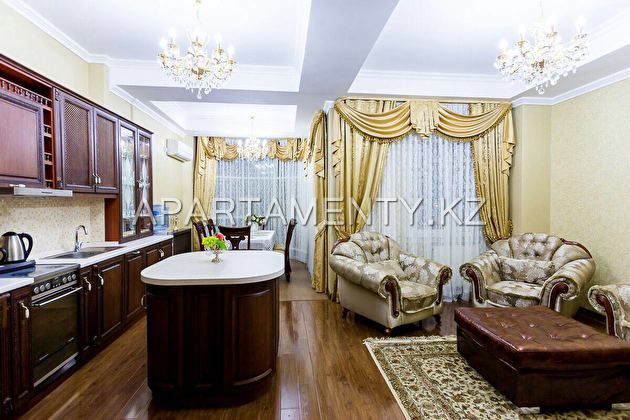 Three bedroom apartment in the center of Astana