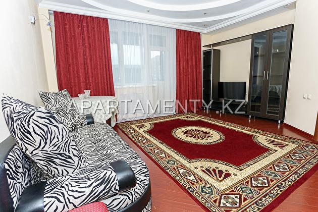 Двухкомнатная квартира посуточно в Нурсае, Астана