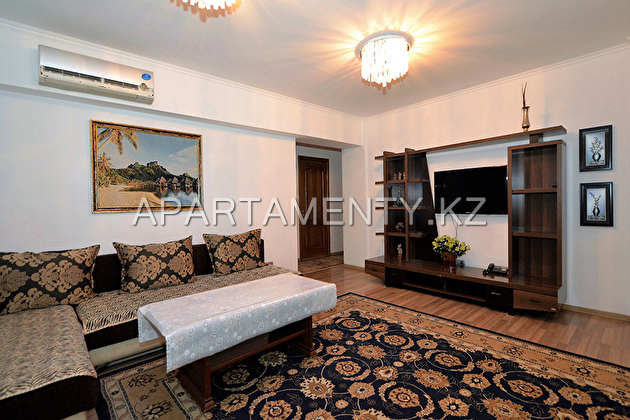 3-bedroom apartment in Almaty
