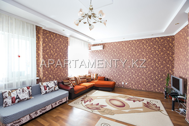 Two-bedroom apartment in the residential complex