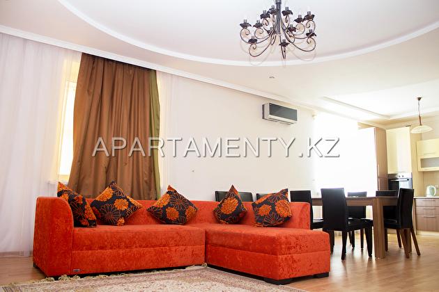 Luxury two-bedroom apartment, Uralsk