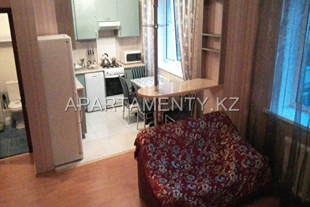 Two bedroom apartment for rent, 1 Samal, Almaty