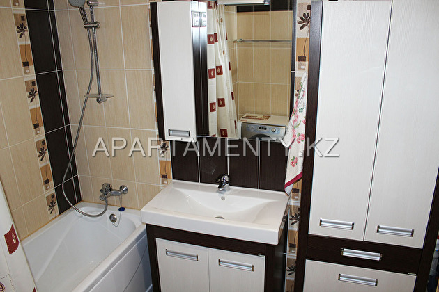One bedroom apartment, daily rent, Kostanay