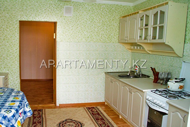 Two-bedroom apartment in Aktobe