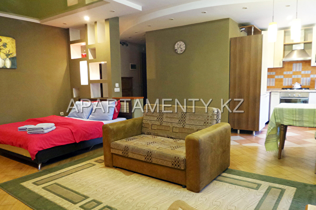Apartment for rent on Kunaeva, Almaty