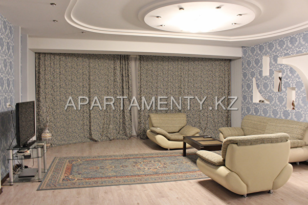 The apartment is in a luxury house in the Al-Farab