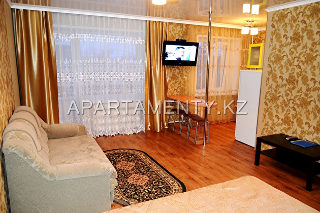 One room apartment for daily rent in Buratino