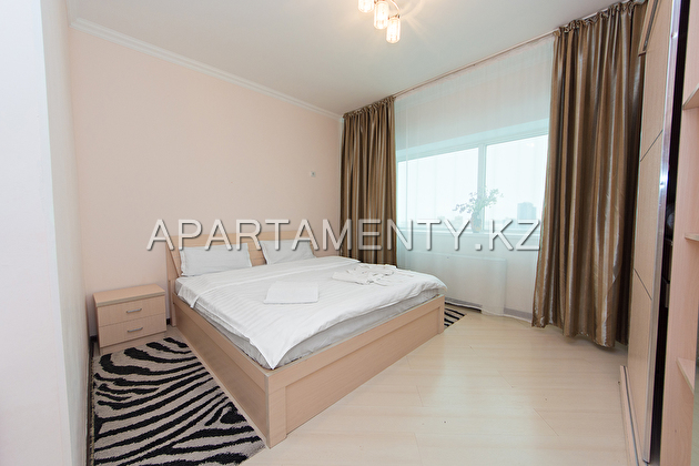 Apartment for daily rent in Nothern Lights, Astana
