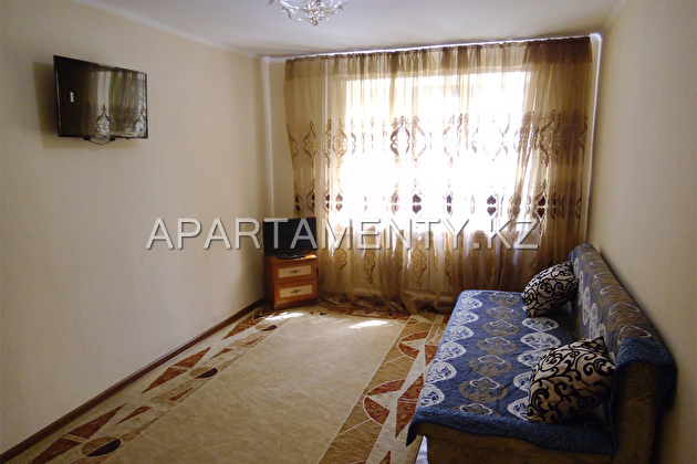 One bedroom apartment in the center of the city.