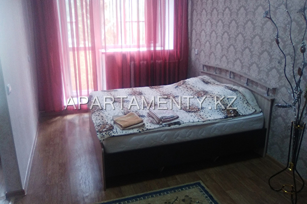 1-room apartment for a day, 15 Temirbayev street