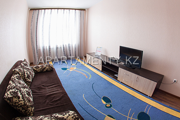 One-bedroom apartment for a day, in RC Zhana Kala