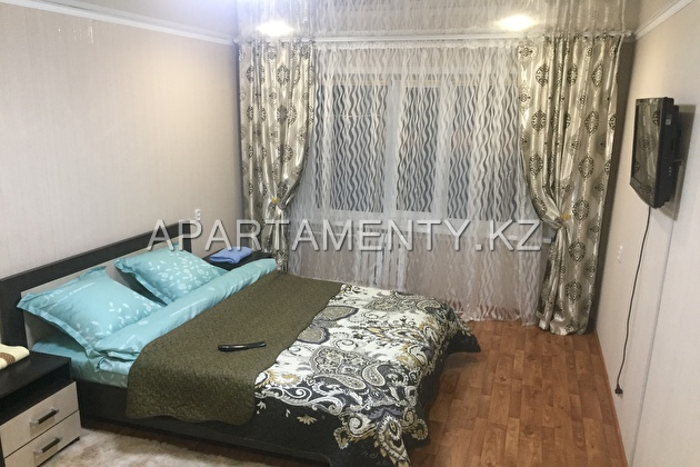 1-roomed apartment by the day, st. Gorky 27
