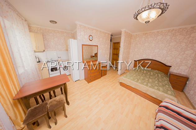 1-room apartment for a day, street Auezova 150