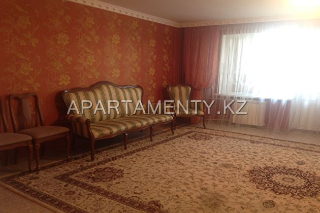 6-room apartment for daily rent in Aktobe