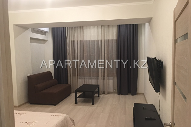 1-room apartment by the day in the center of Almat