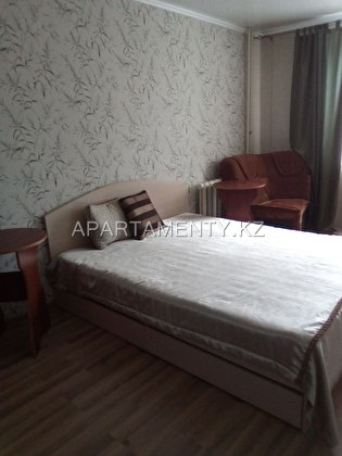 3-roomed apartment by the day in Kostanay