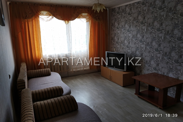 1-room apartment for daily rent in Burabay