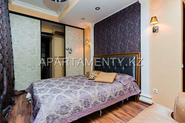 3-room apartment in Astana, Dostyk street