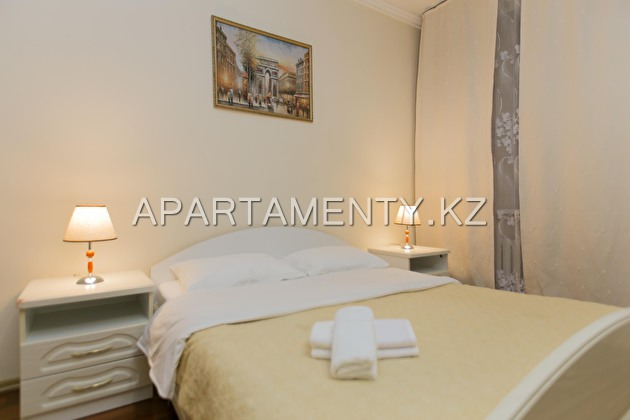2-roomed apartment by the day, Kunaeva street 14