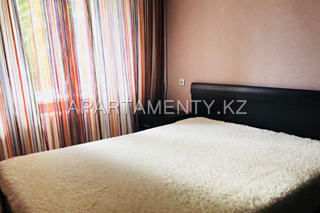 2-room apartment for rent, Karaganda