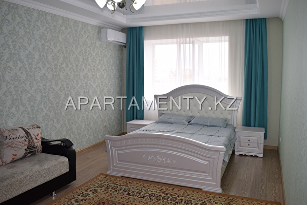 2-roomed apartment by the day, Aktobe