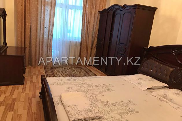 2-roomed apartment by the day in Astana