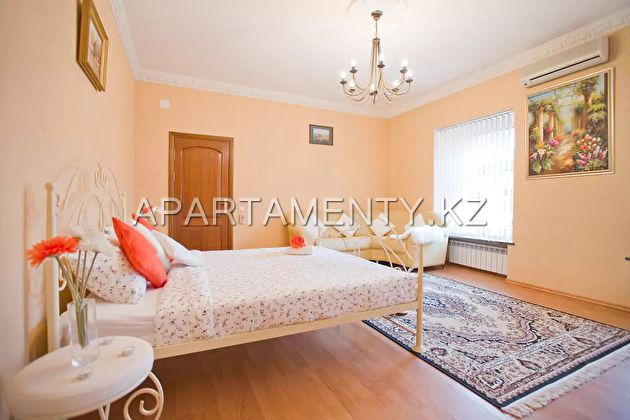 2-roomed apartment per night,  Almaty