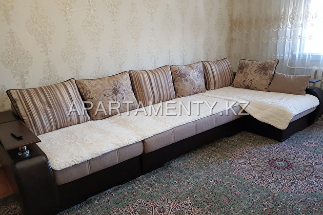 3-roomed apartment by the day in Astana