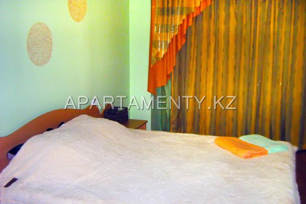 Двухкомнатная квартира посуточно в центре Алматы