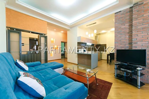3 bedroom apartment for rent, Almaty
