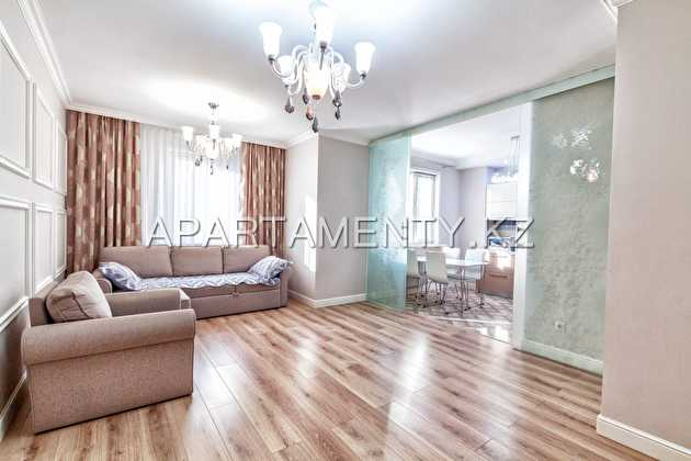 4-room apartments for rent in Astana