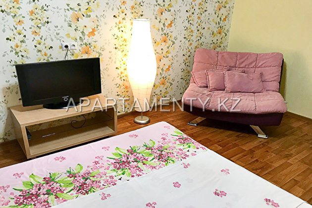 1-room apartment for daily rent, ul. Novatorov 11